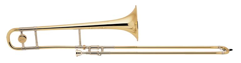 Trombone ténor Sib Stradivarius double perce