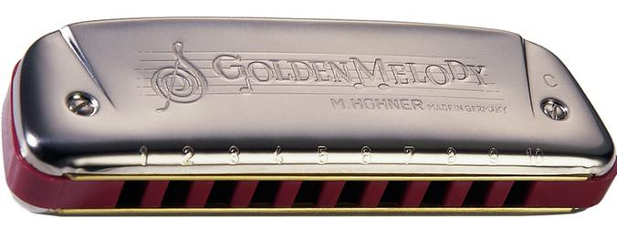 Harmonica Golden Melody